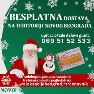 Besplatno na Novom Beogradu